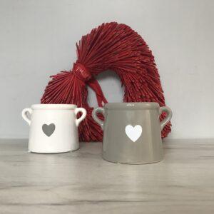 Small Heart Motif Planter
