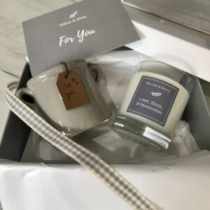 "Gift Box - Classic Candle & ""For You"" Planter"