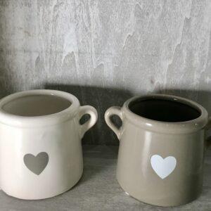 Love Heart Motif Planter
